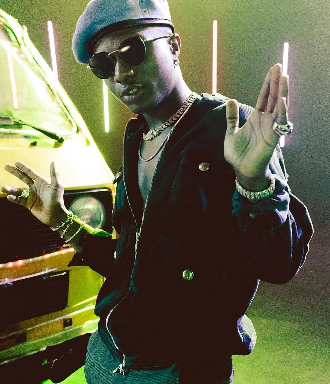 """Wizkid surprises fans with Two New Singles 