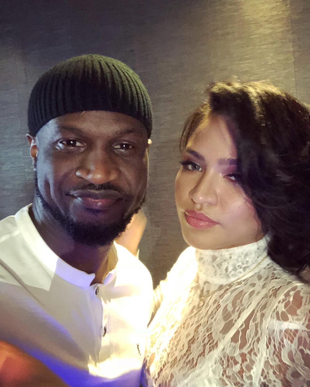 """Mogul Link Up! Peter """"Mr P"""" Okoye hangs out with Diddy & Cassie in Abu Dhabi"""