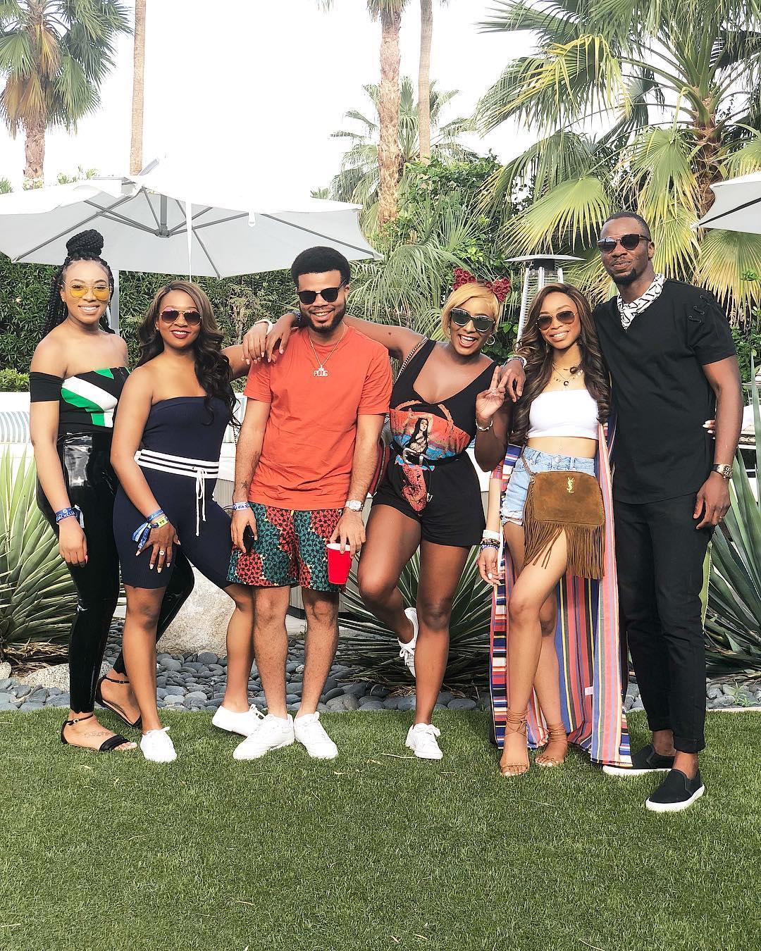 DJ Cuppy & Asa Asika take Coachella! ?