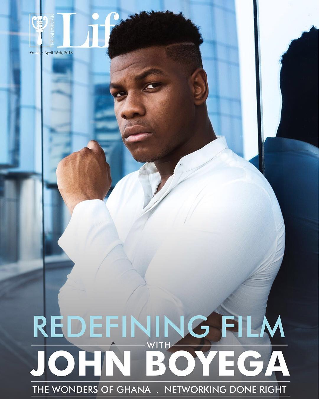 John Boyega Talks Redefining Film On The Cover Of Guardian Life Magazine