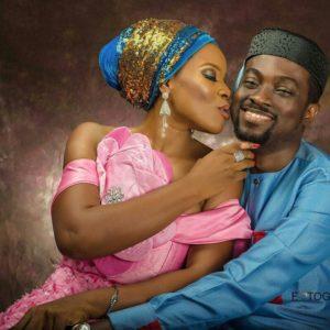 Nollywood Stars Iyke & Florence Okechukwu celebrate 5th Wedding Anniversary