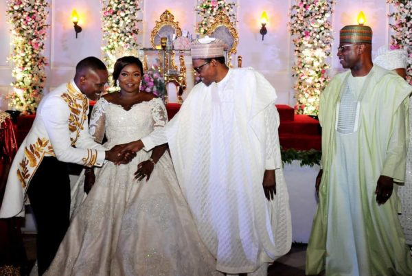 Buhari, Osinbajo, Tinubu attend Wedding of SGF Boss Mustapha's Daughter | BellaNaija