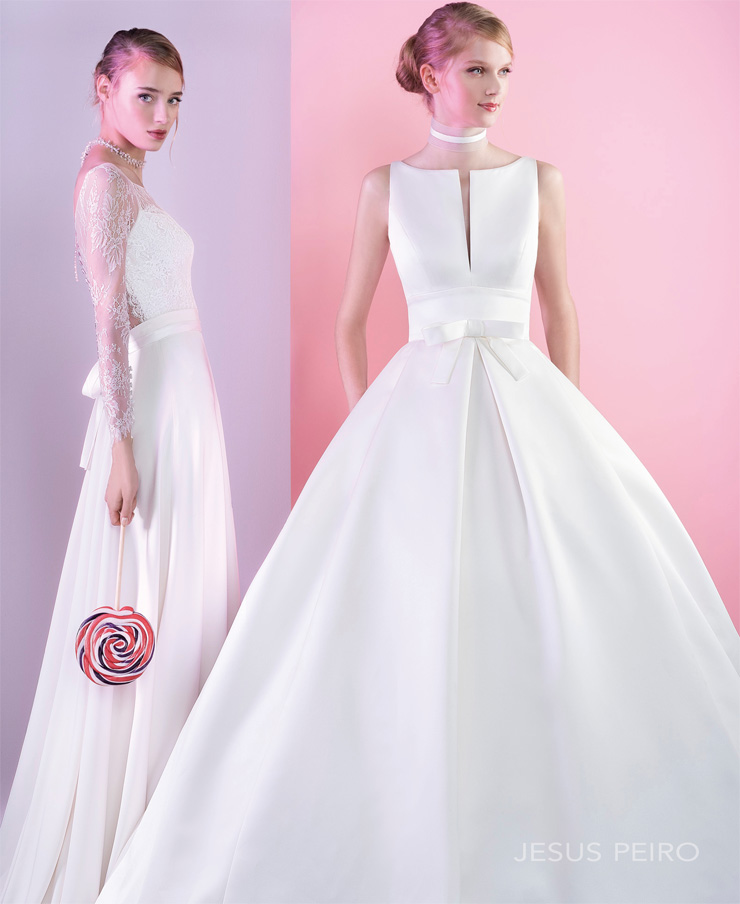 The Bridal Collection Real Bride: BN Bridal: Jesús Peiró Collection Is Perfect For The