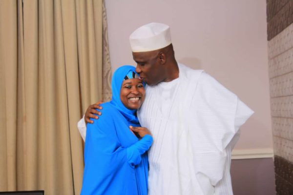 Aisha Yesufu & Husband Aliu celebrate 20 Years of Marriage - BellaNaija