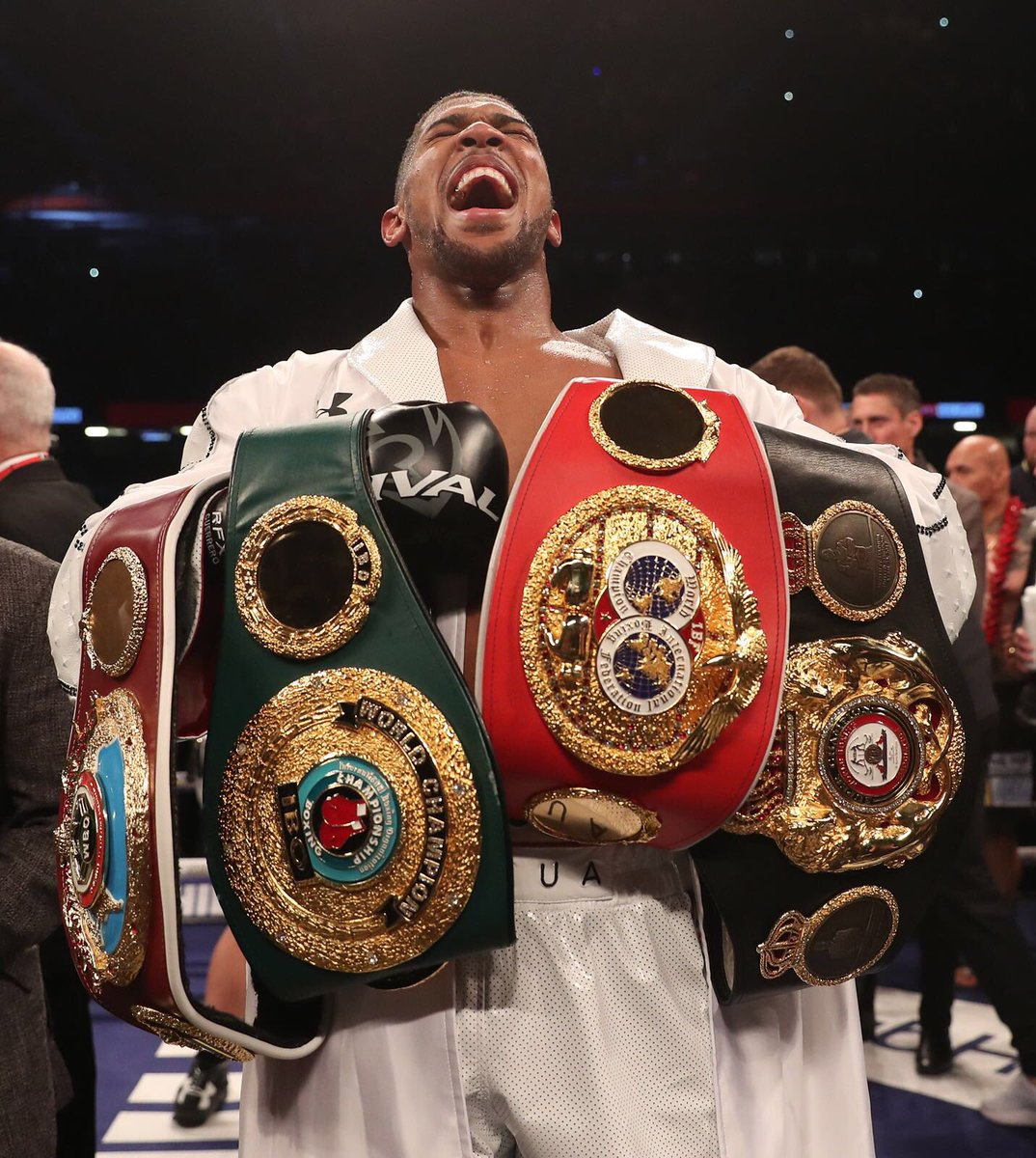 Anthony Joshua could fight Deontay Wilder this December - bellaNaija