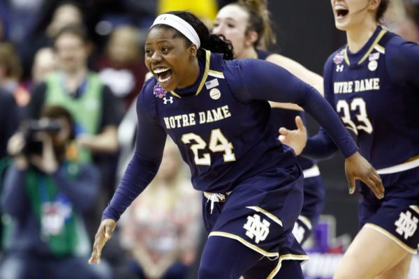 Arike Ogunbowale makes Shot of a Lifetime ... Twice! - BellaNaija