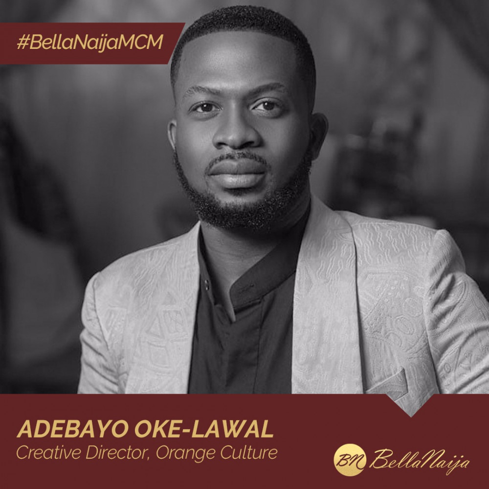 "#BellaNaijaMCM Adebayo Oke-Lawal of Orange Culture is Leading a ""Movement"" for Fashion's Modern Man"