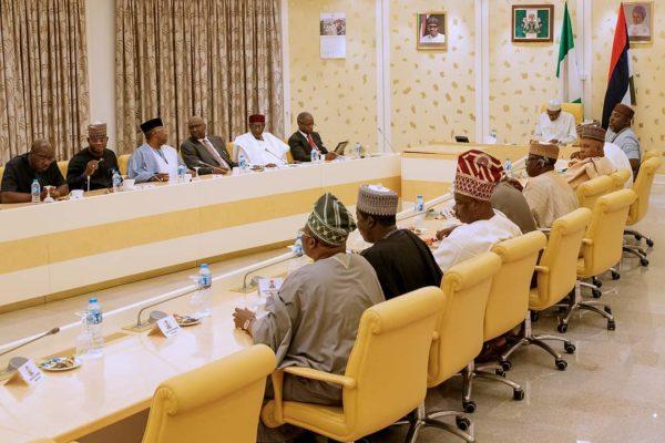 APC Governors endorse Buhari for a 2nd Term | BellaNaija