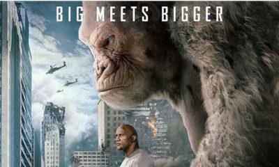 "Dwayne ""The Rock"" Johnson plays adopted Nigerian Davis Okoye in New Action Adventure ""Rampage""   Watch Trailer"