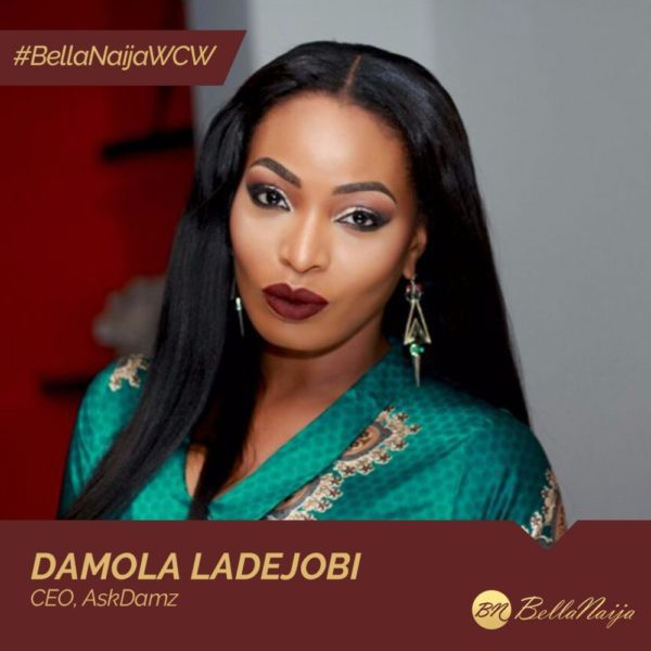 Weight Management Consultant Damola Ladejobi of AskDamz is our #BellaNaijaWCW this Week