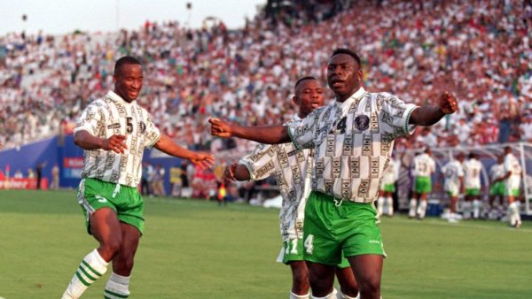 Daniel Amokachi's 1994 Goal loses to Michael Owen's 1998 Goal in FIFA's Favourite World Cup Goal Award - BellaNaija