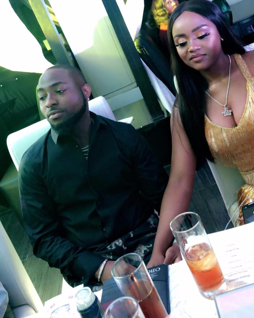 Davido Gifts Girlfriend Chioma A Porsche For Her 23rd Birthday