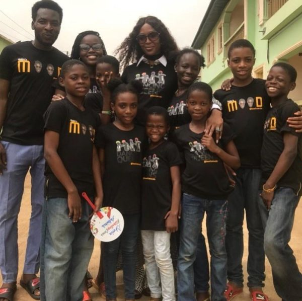 Full Circle! Naomi Campbell meets the Dream Catchers Kids - BellaNaija