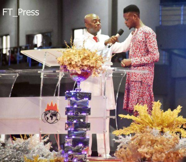 Man allegedly resurrected by Winners Pastor - BellaNaija