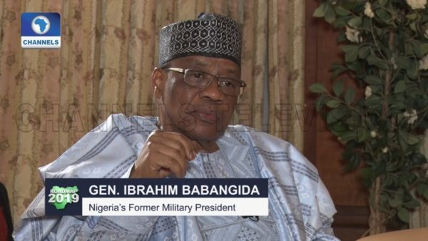 Nobody gives me credit for conducting the freest elections - Babangida | WATCH - BellaNaija