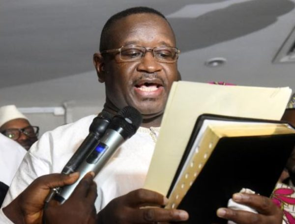 Opposition Leader Julius Maada Bio sworn in as Sierra Leone's President