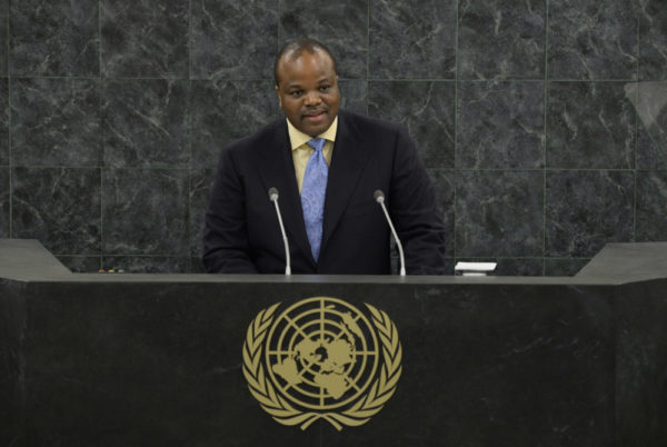 "King Mswati III of Swaziland renames country ""the Kingdom of eSwatini"" 