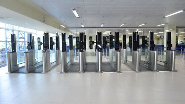 Ghana inaugurates Biometric e-Gates at Kotoka International Airport - BellaNaija