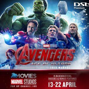 DSTV Marvel pop up channel