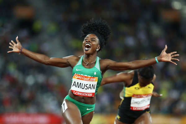Commonwealth Games: Amusan becomes First Nigerian to win Commonwealth 100m Hurdles - BellaNaija
