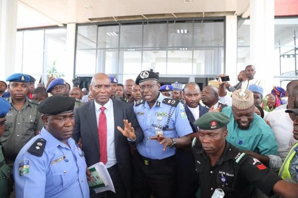 Police arrest Senator Ovie Omo-Agege over Theft of Mace - BellaNaija