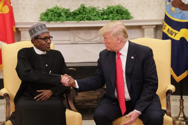 "Nigerians react to Trump's ""Lifeless"" comment on Buhari 