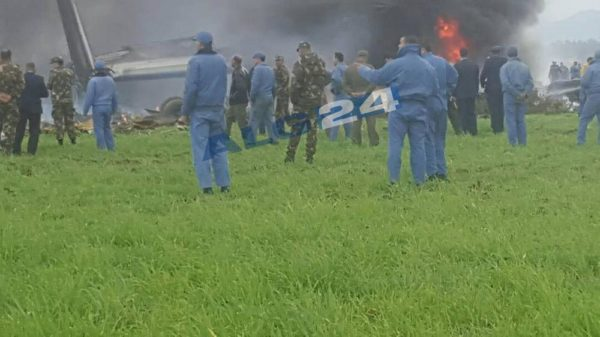 Plane Crash in Algeria kills at least 100 - BellaNaija