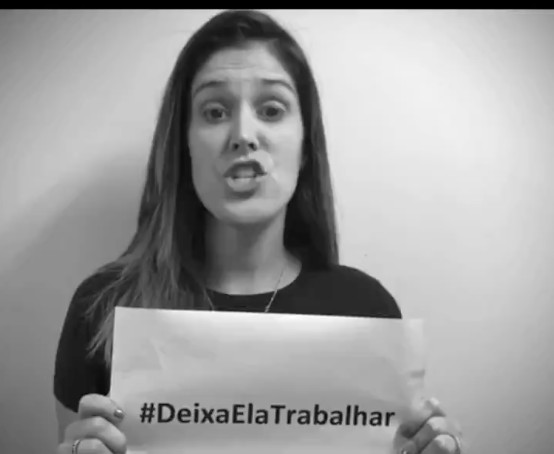 Brazil's Female Sports Journalists protest against Sexual Harassment - BellaNaija