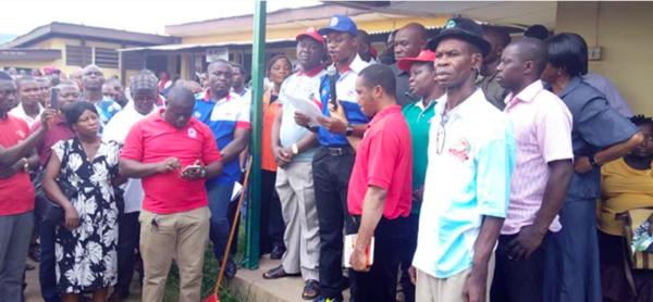 Health Workers in Federal Hospitals embark on Indefinite Strike   BellaNaija