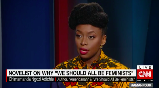 Chimamanda Ngozi Adichie talks #MeToo, Feminism & Gay Rights on CNN | WATCH on BN TV | BellaNaija