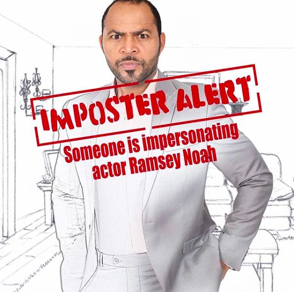 Ramsey Nouah impersonated for Months?   BellaNaija