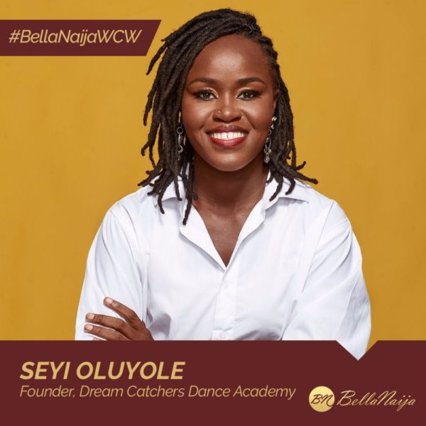 How #BellaNaijaWCW Seyi Oluyole of Dream Catchers is Empowering Indigent Kids through Dance
