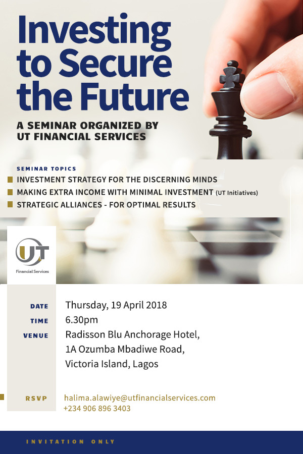 UT Financial Services investment seminar