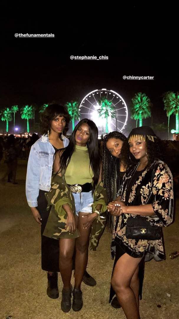 Genevieve Nnaji's Chic Outfit for #Coachella - Image ~ Naijabang