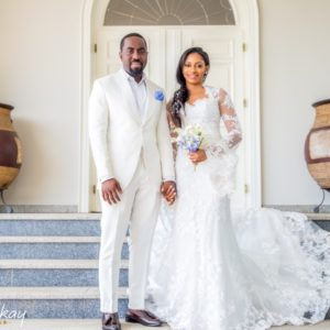 BN Exclusive: Xerona and Dj Caise's Three Cord Stand Wedding Ceremony in Dubai #XD2018