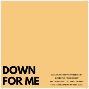 New Music: Kobi Jonz - Down For Me + Conscious feat. DJ Boat