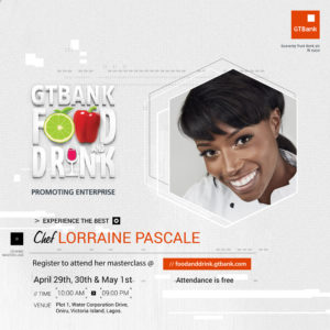 GTBank Food and Drink Fair Lorraine Pascale
