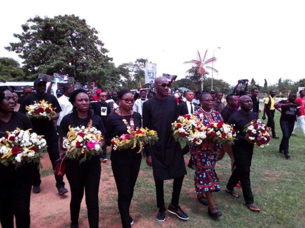 #NigeriaMourns: Nigerians come out en masse to protest Violent Killings   BellaNaija