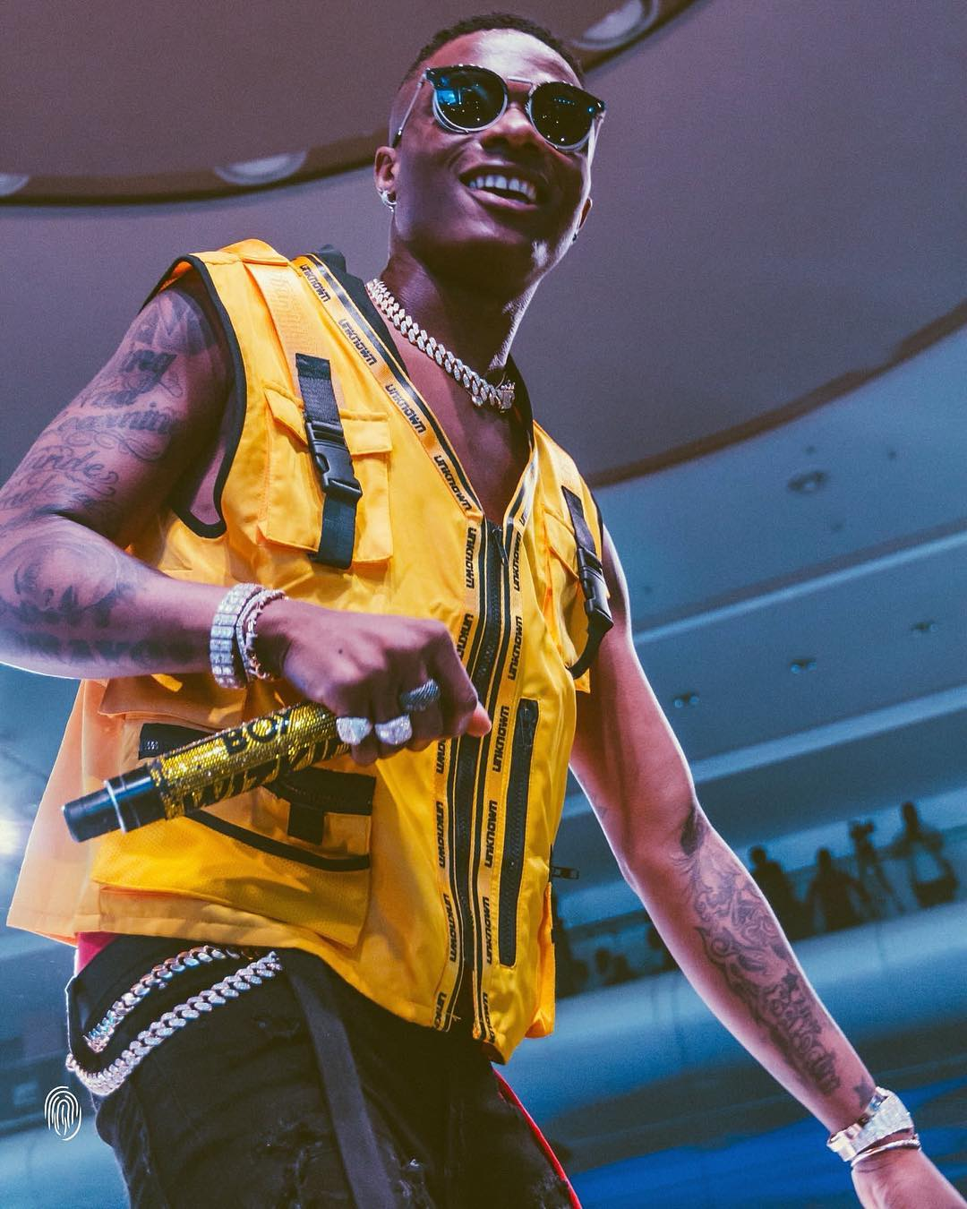 Dreams Come True! Wizkid's Concert at the O2 Arena is SOLD OUT
