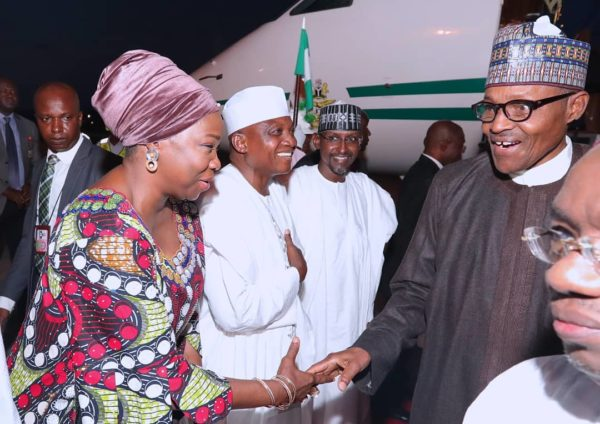 Buhari returns from medical trip to UK