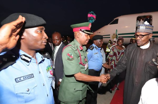President Buhari Returns After 4-Day Medical Vacation