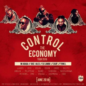 Control The Economy! M.I Abaga & the Chocolate City Gang to go on Nationwide Tour