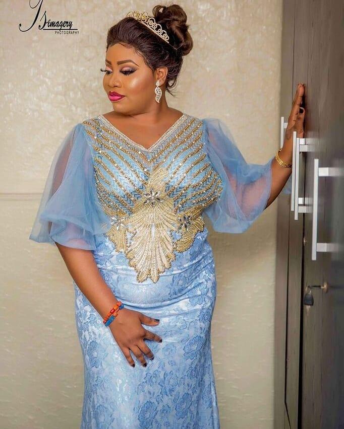 Alaafin of Oyo's Wife, Olori Memunat Omowumi Celebrates Birthday With Stunning Photos