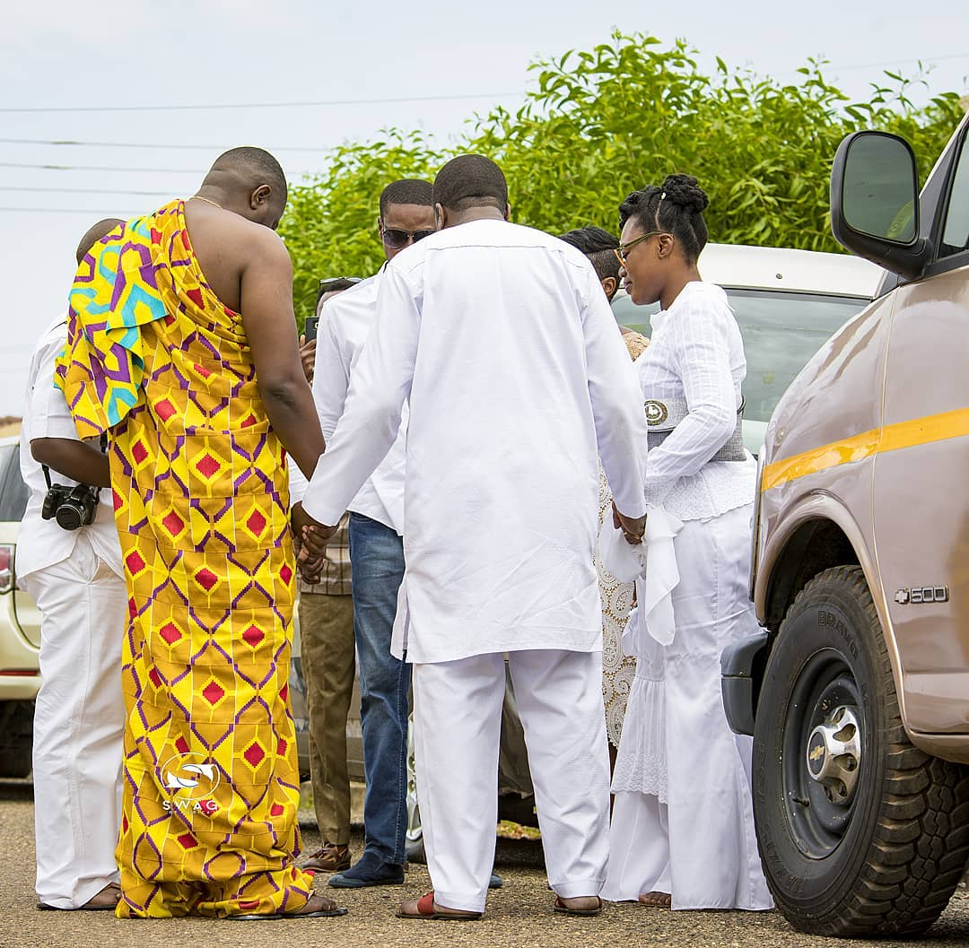 First Look At John Dumelo & His Love Mawunya's Traditional