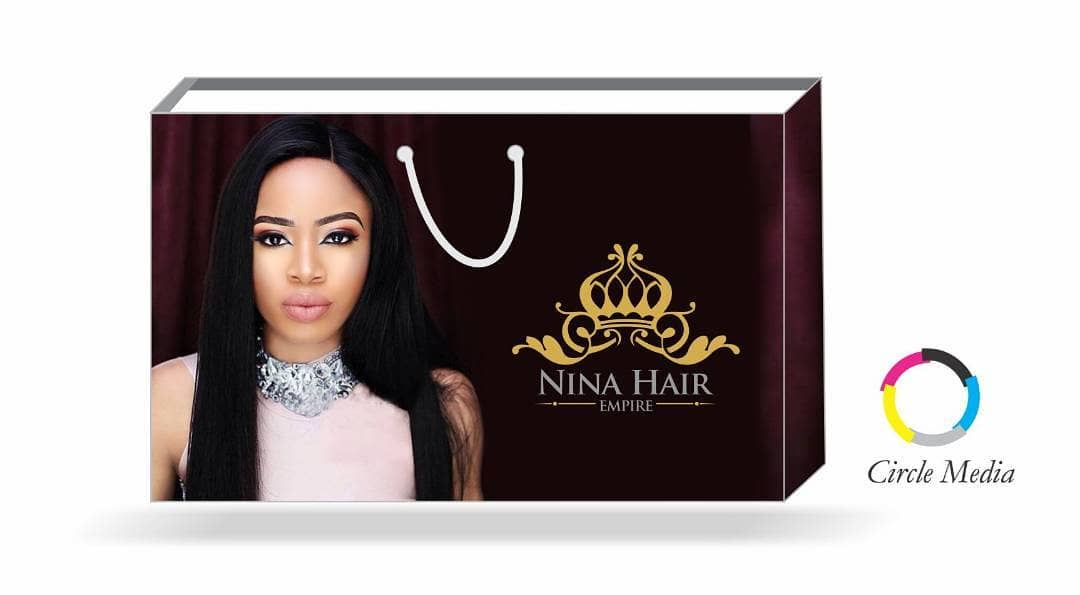 Bbnaija's Nina Announce Launch Of Her Hair Line 'Nina Empire Brand' - Image ~ Naijabang
