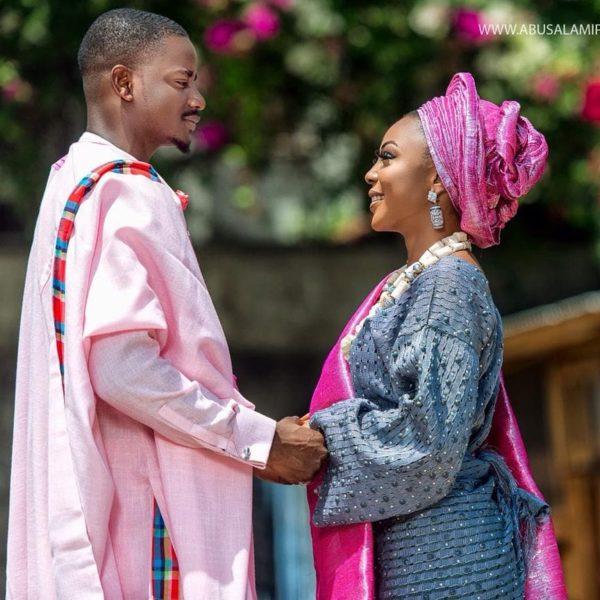 Ifu Ennada & Leo's Lovely Pre-Wedding Inspired Shoot