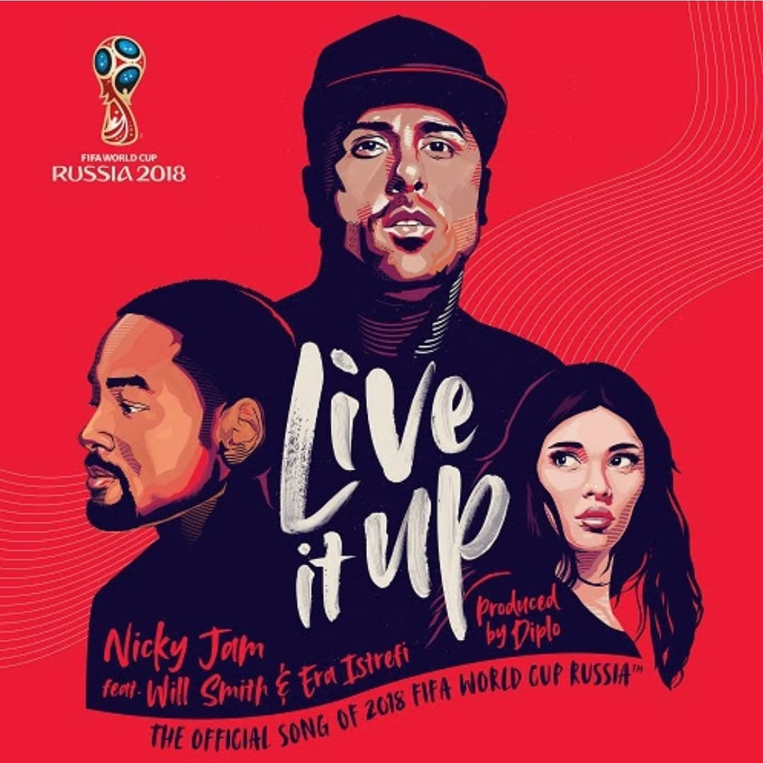 Live It Up! Nicky Jam teams up with Will Smith & Era Istrefi for Russia 2018 World Cup Theme Song | Listen on BN