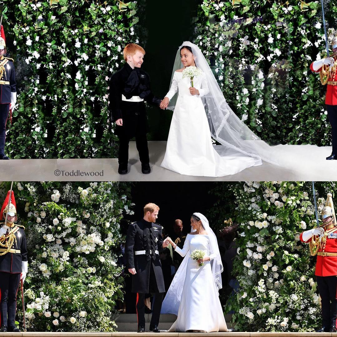 Adorable Mini-mes of Prince Harry & Meghan Markle
