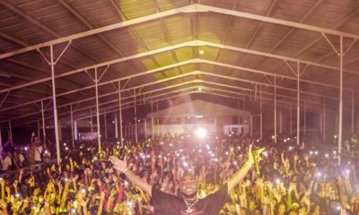 OBO Season! Davido performs to crowd of 10,000 at Suriname, South America