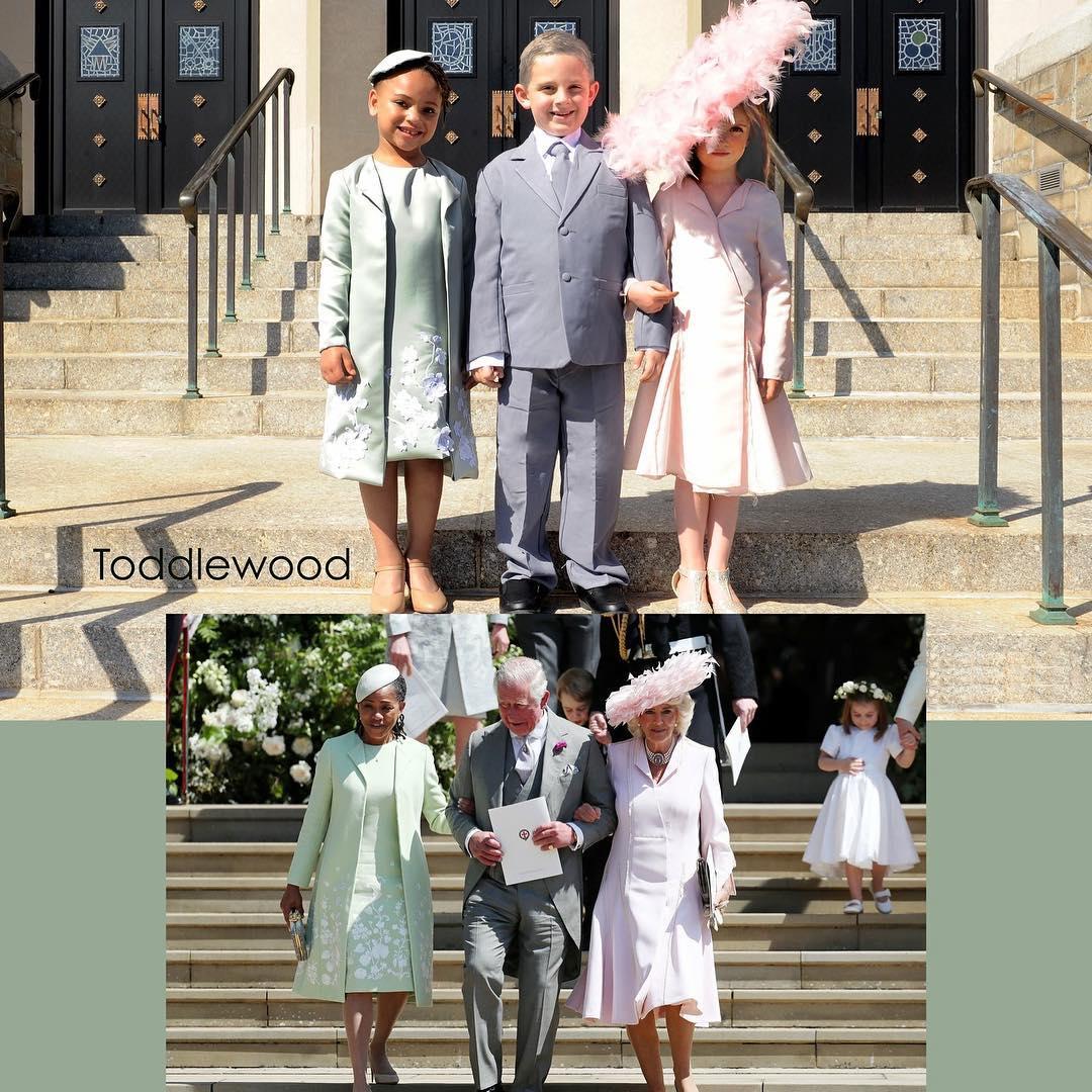 Adorable Mini-mes Photos of Prince Harry & Meghan Markle - Image ~ Naijabang